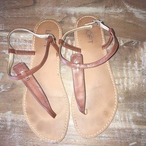 Loft tong Sandal - brown